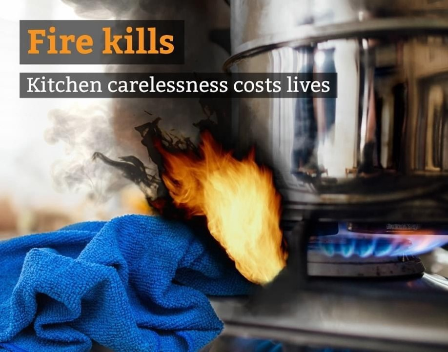 Kitchen carelessness costs lives